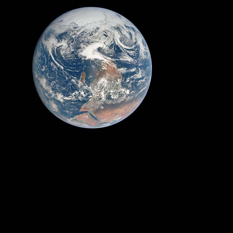 Blue Marble image of Earth from space