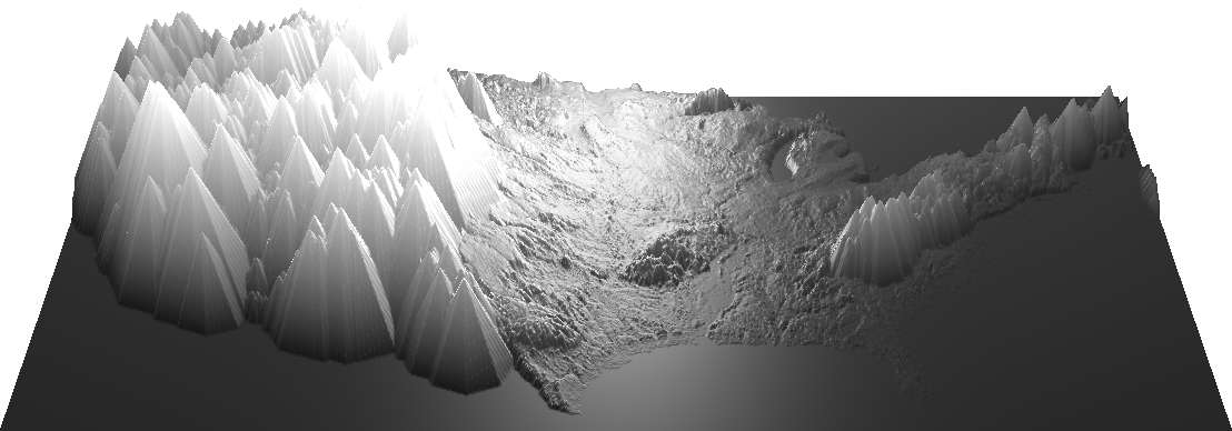 US heightmap dilated