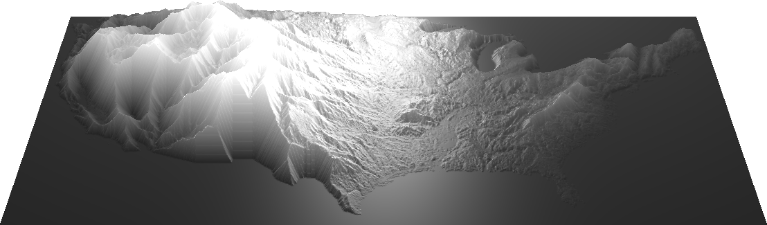 eroded US heightmap