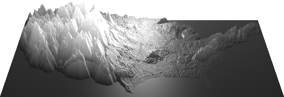 US heightmap eroded and dilated with more texture
