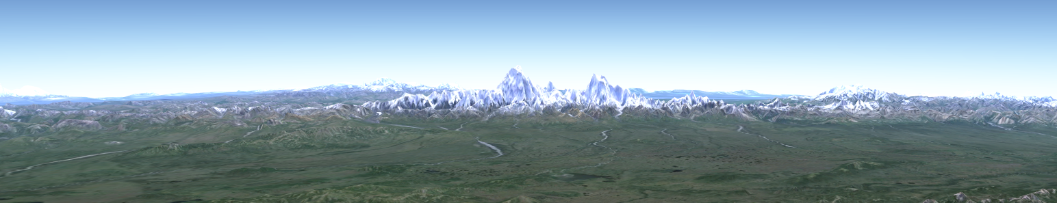 Denali region scaled up